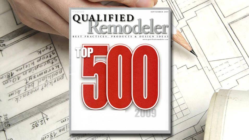 RWR 2009 Qualified Remodeler Top 500
