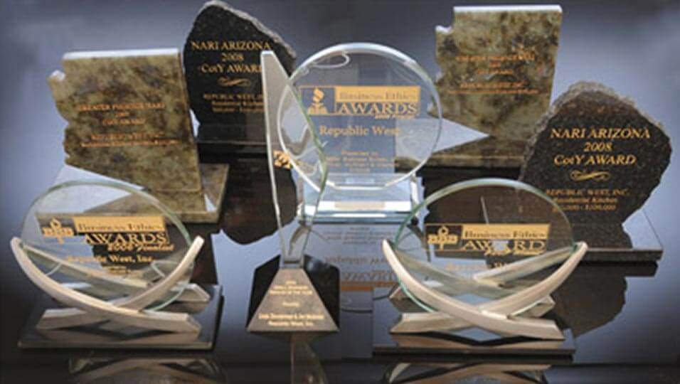 RWR Award Winning Company