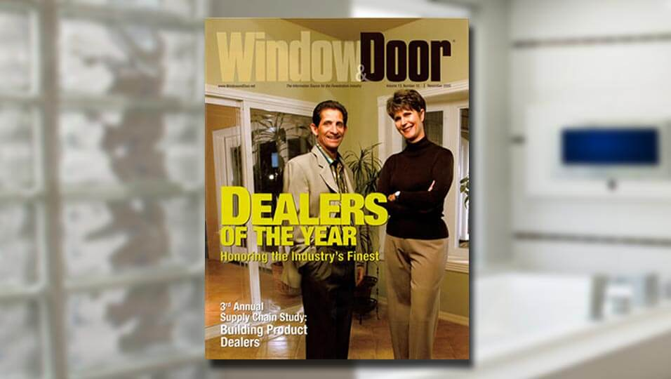 RWR Window Door Magazine Dealer of the Year