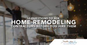 Home Remodeling Contractors RWR