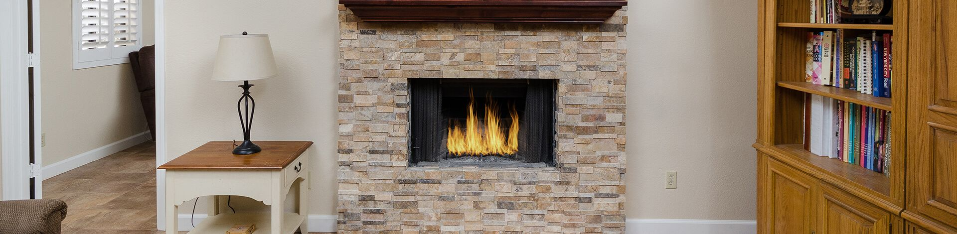 05 Family Room Fireplace