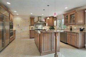 a new, remodeled kitchen