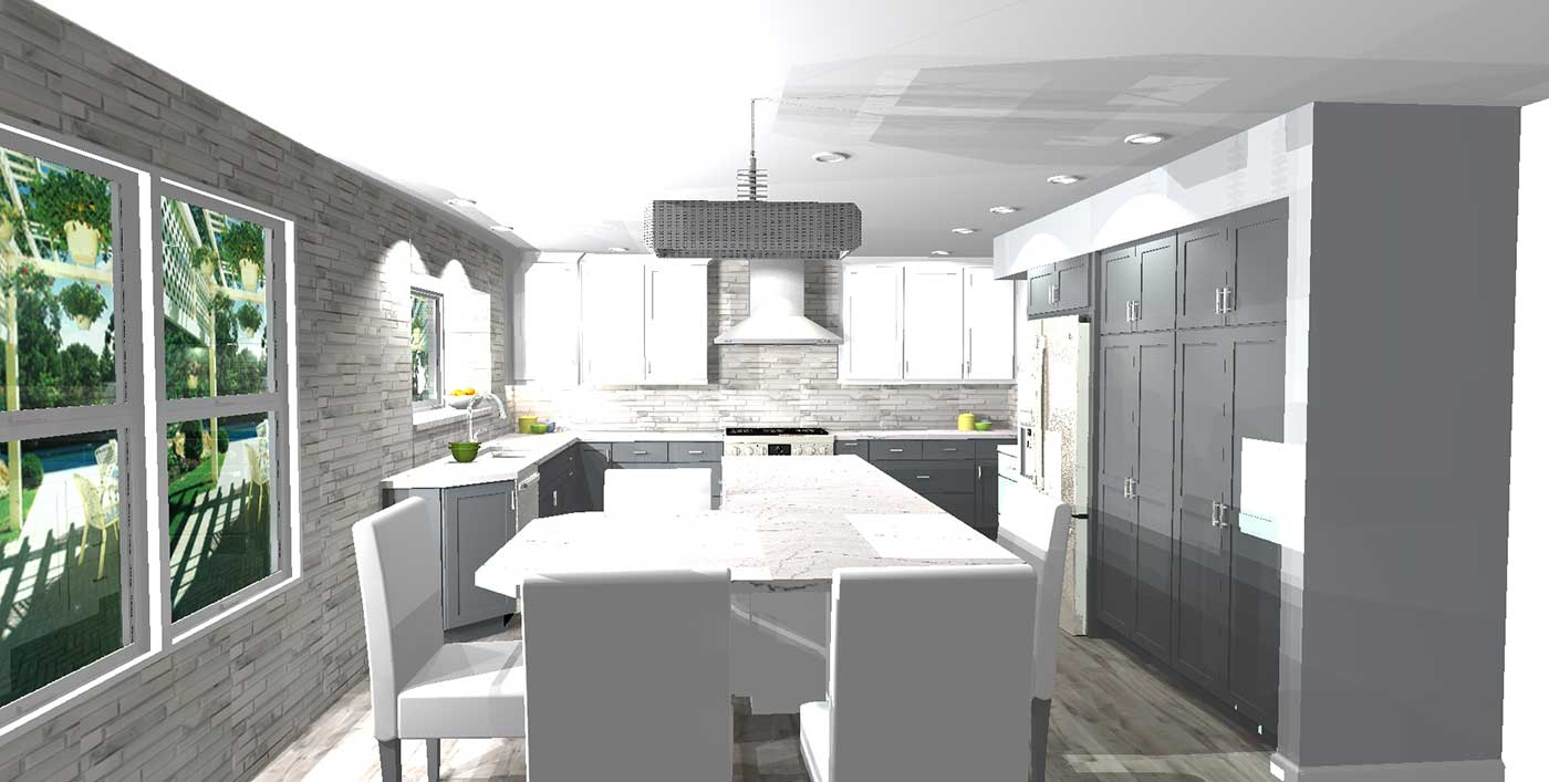Renderings Of The Final Product For Pamela's Kitchen 3
