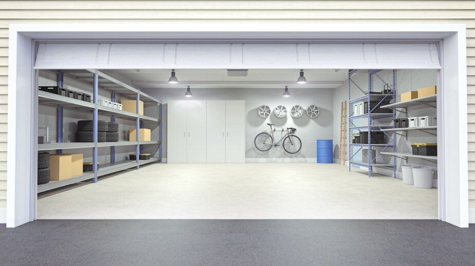 Awesome Garage Interior Paint Ideas Compilation